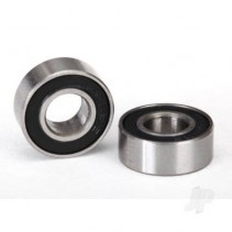 Traxxas Ball bearings, black rubber sealed (6x13x5mm) (2 pcs) TRX5180A