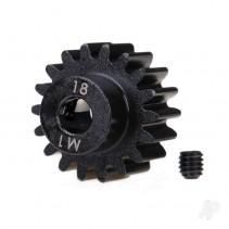 Traxxas 18-T Pinion Gear (1.0 metric pitch) Set (fits 5mm shaft) TRX6491R