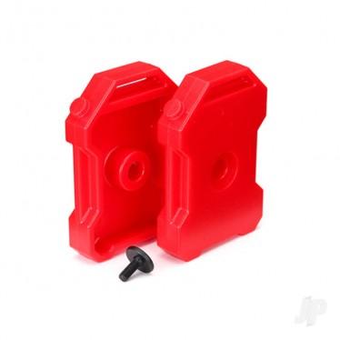 Traxxas Fuel Canisers (RED) x 2 3x8 FCS x1 TRX8022