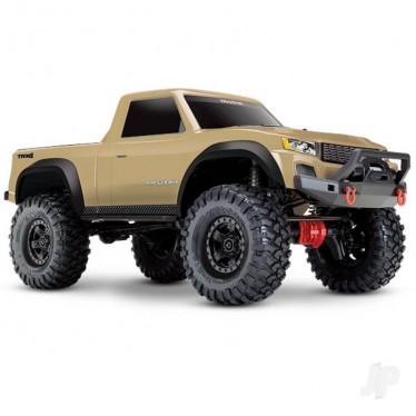 Traxxas Tan TRX-4 Sport 1:10 4X4 Crawler Truck (+ TQ, XL-5 HV, Titan 550)