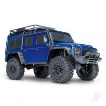 Traxxas Land Rover Defender Crawler 110 TRX-4 BLUE TRX82056-4-BLUE