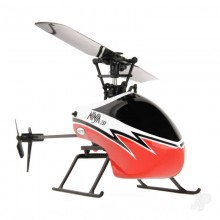 Twister Ninja 250 Helicopter with Co-Pilot Assist Red TWST1001R