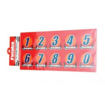 Futaba Racing Numbers (3 sets of 0-9) FDEC-20