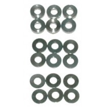 Schumacher U3131 SPEED PACK Alloy Spacers M3x7mm 0.5;1;2mm (18)