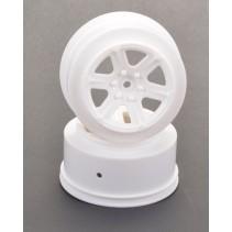Schumacher Short Course Wheel White + 3 offset (2) U4732
