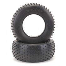 Schumacher Short Course Tyre - Mini Spike - Yellow U6766