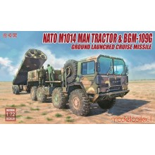 Modelcollect Nato M1001 Man Tractor & BGM-109G Ground Launched C/Missile UA72096