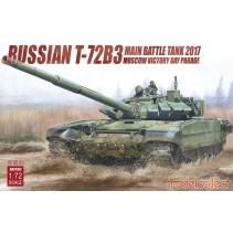 Modelcollect Russian T-72B3 Main Battle Tank 2017 UA72102