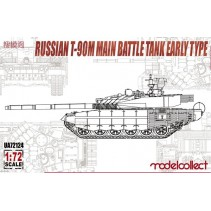 Modelcollect Russian T-90M Main Battle Tank Early Type UA72124