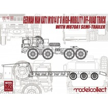 Modelcollect German Man KAT1M10148*8 High-Mobility Off-Road Truck UA72125