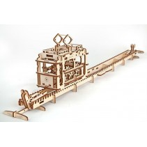 UGEARS Tram with Rails UG70008
