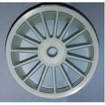 V12 White 15 Spoke Wheels