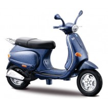 Maisto Vespa  125 ET4 (1996) - 1:18 Diecast Scooter - Midnight Blue
