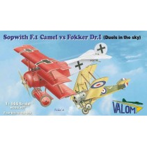 Valom Sopwith F.1 Camel vs Foker Dr.I (Duels in the sky) VLM14421