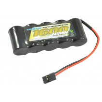 Voltz 1600mah 6.0V Receiver Pack Straight JR Plug VZ0111