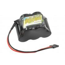 Voltz1600mah 6.0V Receiver Pack Hump JR VZ0112