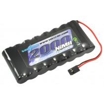 Voltz Tx Flat Battery 9.6v 2000mah w/connector VZ0180
