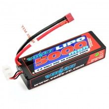 Voltz 5000mah Hard 7.4V 50C Hard Case Stick Battery Pack VZ0317