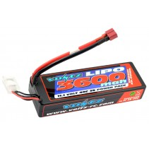Voltz 3600mah Hard Case 3S 11.1V 40C Lipo Stick Pack Low Pro (2S Size) VZ0341