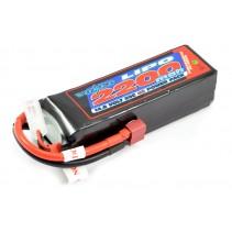 Voltz 2200mah 14.8V 30C Lipo Battery VZ0422004S