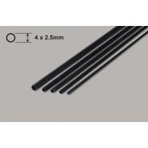 Carbon Fibre Tube 4x2.5x750mm (1)