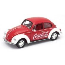 Oxford Diecast Volkswagen Beetle Coca Cola - 1:24 Scale