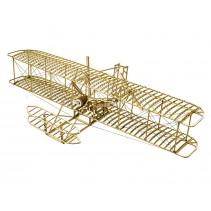 DW WRIGHT FLYER 500MM 1/18 SCALE STATIC BALSA KIT 1-DW-BALSAKIT-VC01