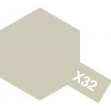 Tamiya XF-32 Titan Silver Acrylic Paint Mini 10ml