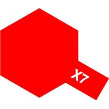 Tamiya 81507 X-7 Red Gloss Paint Mini 10ml