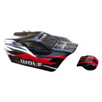 DHK Wolf Red/Black Body (PVC) Z-DHK8133-001R