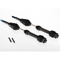 Traxxas Driveshafts rear steel-spline constant velocity (2) Z-TRX6852R