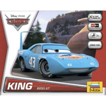 Zvezda Disney Cars KING Model Kit Z2013