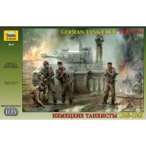Zvezda German Tank Crew WWII Late Z3614