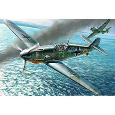 Messerschmitt Bf-109 F4 Zvezda 1:48 Kit Z4806 Model