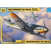 Zvezda Messerschmitt BF-109 G6 Z4816