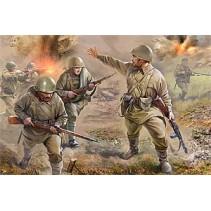 Zvezda Z6103 Soviet Infantry 1/72 1941-1943