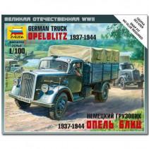 Zvezda German Truck Opel Blitz 1937-1944 Z6126