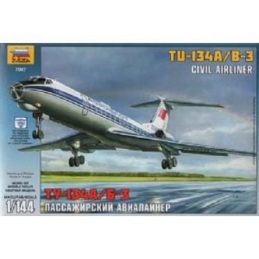 Zvezda Z7007 Tupolev TU-134B 1/144