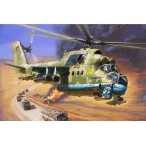 Zvezda Soviet Attack Helicopter MI-24P HIND 1/75 Z7315