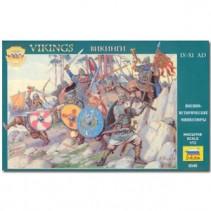 Zvezda Vikings IX-XI A.D. Infantry Z8064