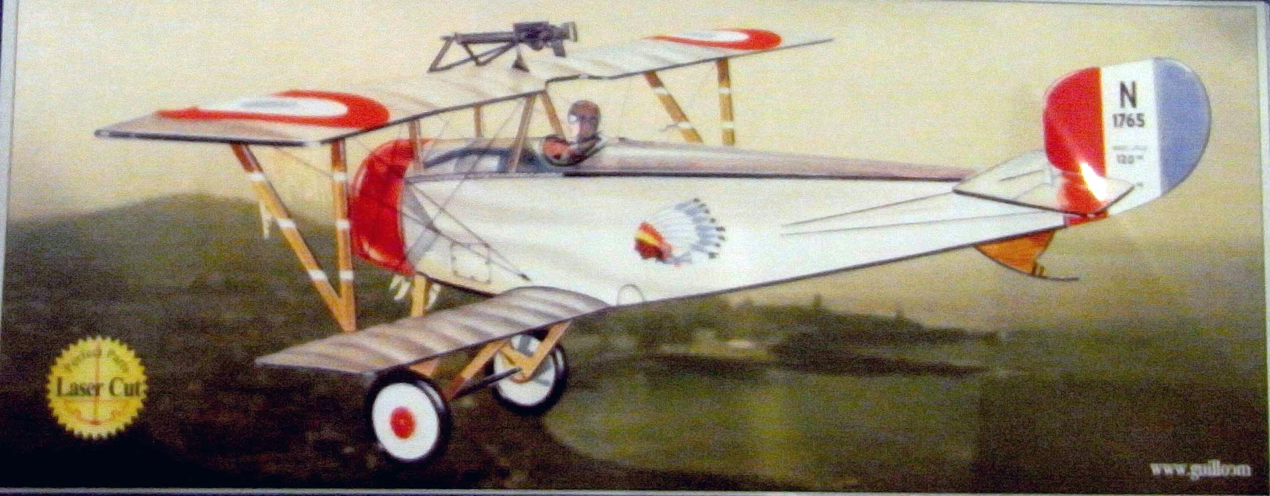 Guillows French Nieuport Ii Scale 1 12 G203
